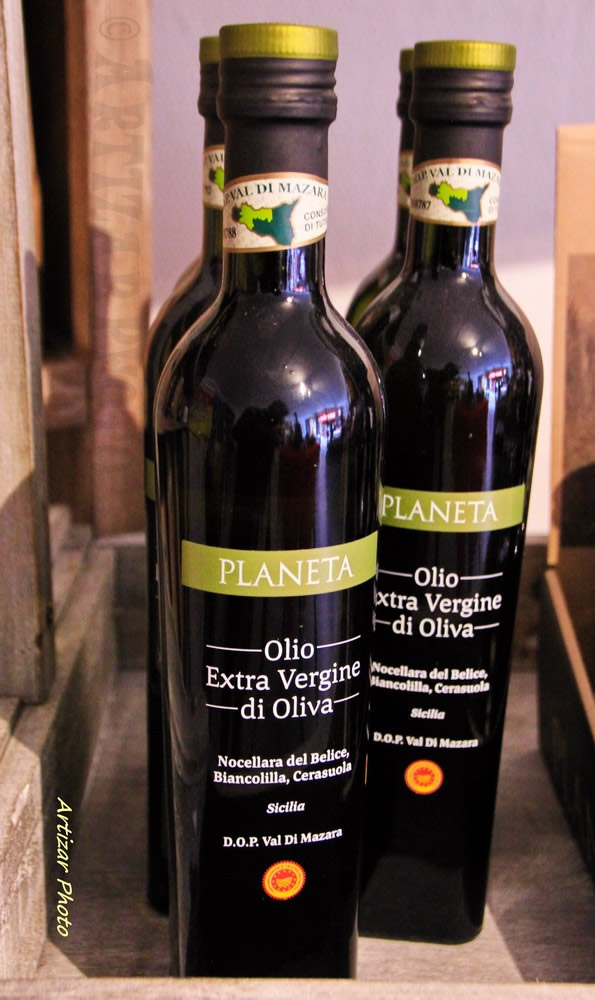 Bouteilles Huile Olive VS