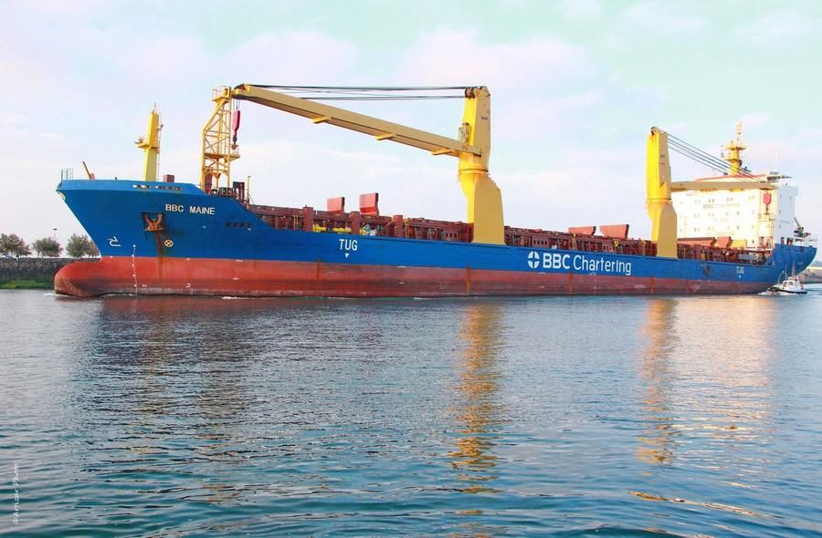 BBC et bateau pilote 2205