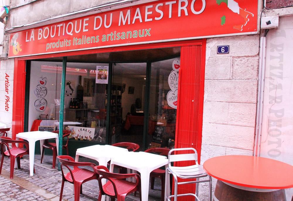 Façade boutique Maestro VS
