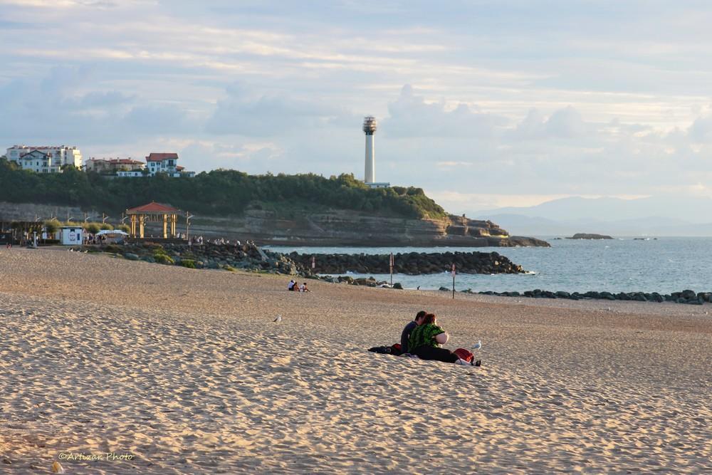 Anglet Beach 010109-1