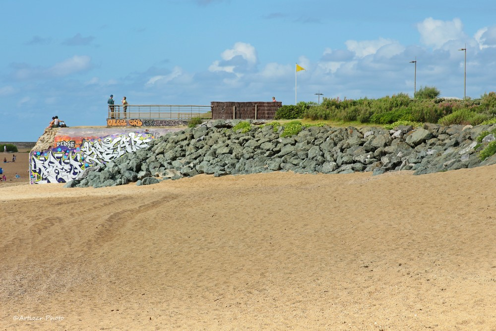 plage et bunkers 1507-1